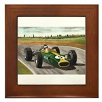 Jim Clark, Framed Tile