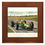 Jim Clark, Framed Tile