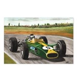 Jim Clark, Postcards (Package of 8)