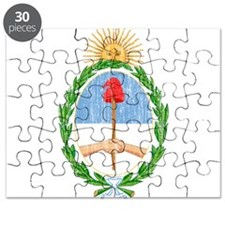 Argentina Coat Of Arms Puzzle