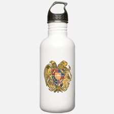 Armenia Coat Of Arms Water Bottle
