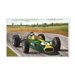 Jim Clark, 22x14 Wall Peel