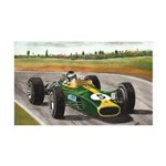Jim Clark, 38.5 x 24.5 Wall Peel