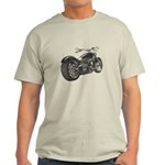 Custom Motorcycle, Hole shot Light T-Shirt