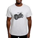 Custom Motorcycle, Hole shot Light T-Shirt