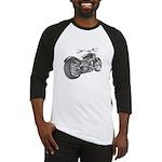 Custom Motorcycle, Hole shot Baseball Jersey