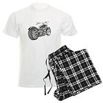 Custom Motorcycle, Hole shot Men's Light Pajamas
