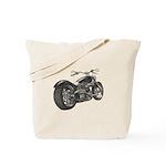 Custom Motorcycle, Hole shot Tote Bag