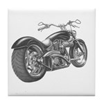 Custom Motorcycle, Hole shot Tile Coaster