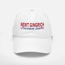 Newt Gingrich 2008 Gear Baseball Baseball Cap
