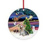 Dog ornaments Round Ornaments