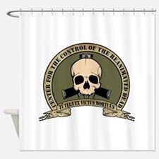 CCRD Logo Color 9 Shower Curtain
