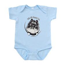 Keeshond IAAM Infant Bodysuit