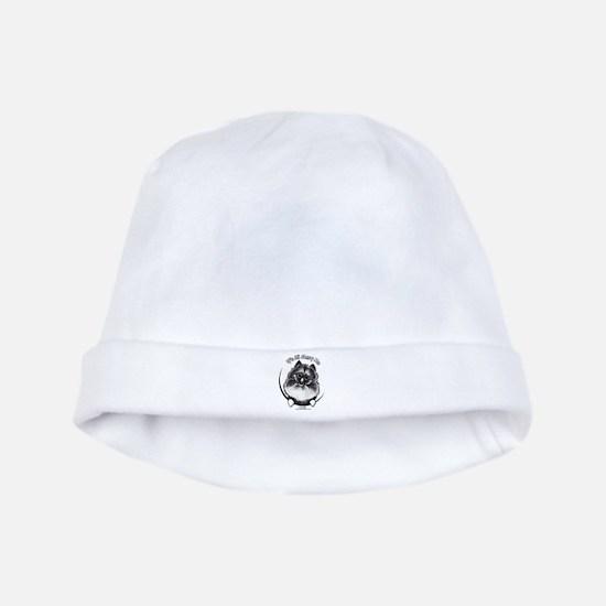 Keeshond IAAM baby hat