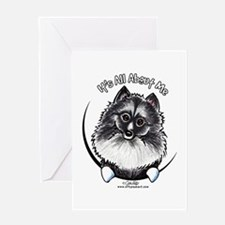 Keeshond IAAM Greeting Card