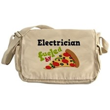 Electrician Funny Pizza Messenger Bag
