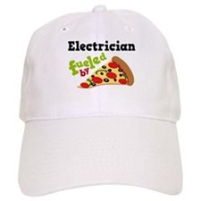 Electrician Funny Pizza Baseball Cap