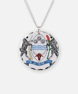 Botswana Coat Of Arms Necklace