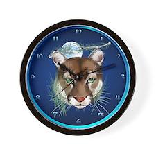 Midnight Moutian Lion- Wall Clock