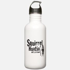 Squirrel Huntin aint a Crime! Water Bottle