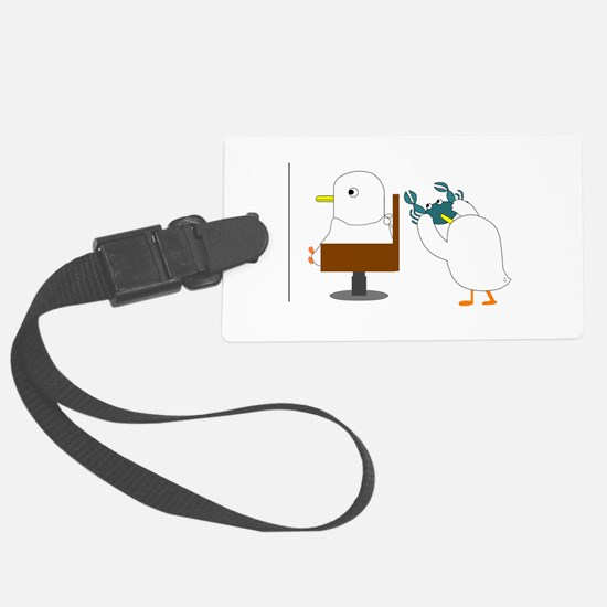 Haircut Luggage Tag