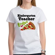 Kindergarten Teacher Funny Pizza Tee