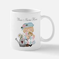 Personalized Garden Girl Mug