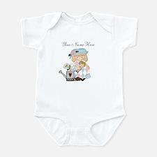 Personalized Garden Girl Baby Bodysuit