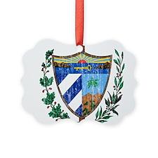 Cuba Coat Of Arms Ornament
