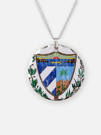 Cuba Coat Of Arms Necklace