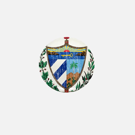 Cuba Coat Of Arms Mini Button