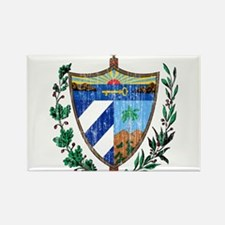 Cuba Coat Of Arms Rectangle Magnet