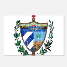 Cuba Coat Of Arms Postcards (Package of 8)