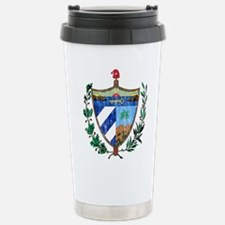 Cuba Coat Of Arms Stainless Steel Travel Mug