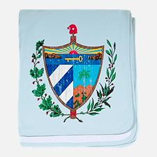 Cuba Coat Of Arms baby blanket