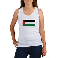 Palestina flagg Women's Tank Top
