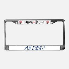 An Den? License Plate Frame