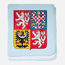 Czech Republic Coat Of Arms baby blanket