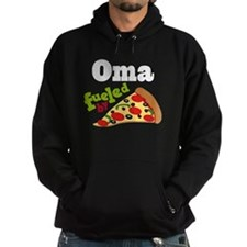 Oma Fueled By Pizza Hoodie