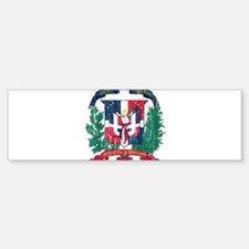 Dominican Republic Coat Of Arms Bumper Bumper Sticker