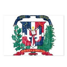 Dominican Republic Coat Of Arms Postcards (Package
