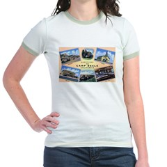 Camp Beale California Jr. Ringer T-Shirt