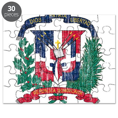 Dominican Republic Coat Of Arms Puzzle