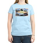 Camp Beale California Women's Pink T-Shirt