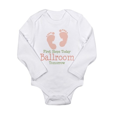 BallroomFirstStepsPink Body Suit