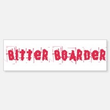 Bitter Boarder Sticker (Bumper)