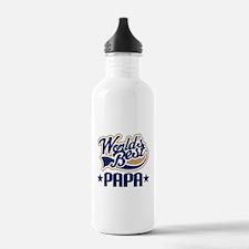 Papa (Worlds Best) Water Bottle
