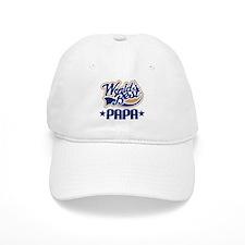 Papa (Worlds Best) Baseball Cap
