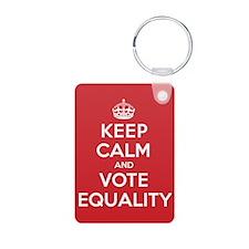K C Vote Equality Keychains