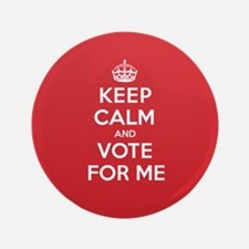 """K C Vote Me 3.5"""" Button"""